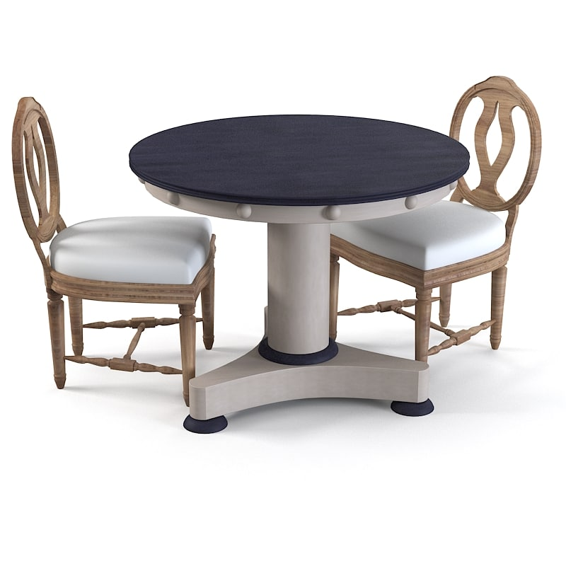 3d max cafe table dining