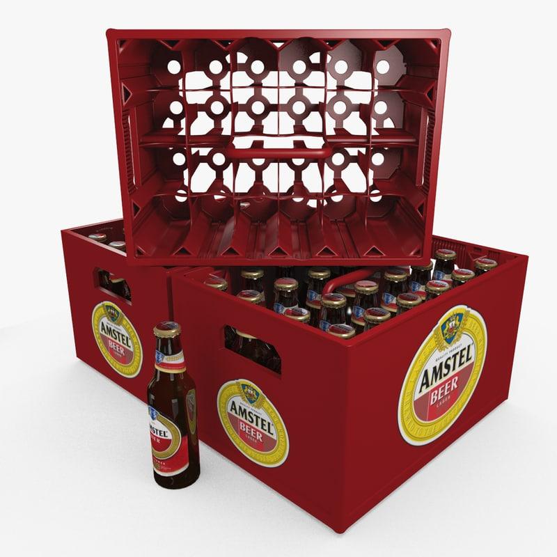 beer bottles crate blend