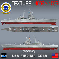 3ds max uss virginia