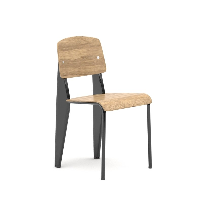 3ds max vitra standard chair