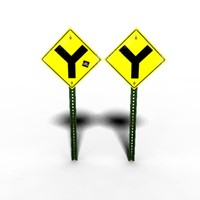 free ma mode y intersection signs