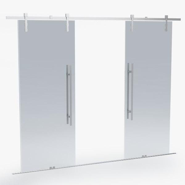 3d office door model