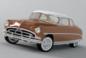 hudson hornet 1952 3d max