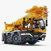 liebherr compact crane ltc 3d model