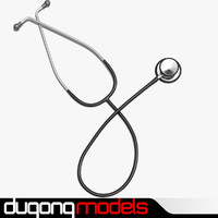 3d model dugm04 stethoscope