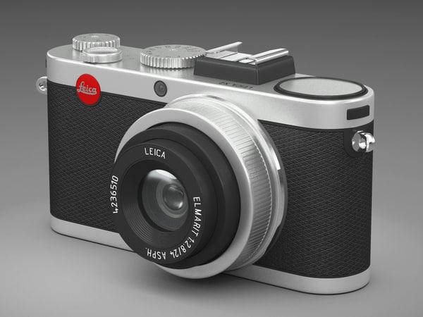 3d model of leica x2 camera