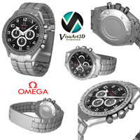 omega speedmaster broad arrow 3d 3ds