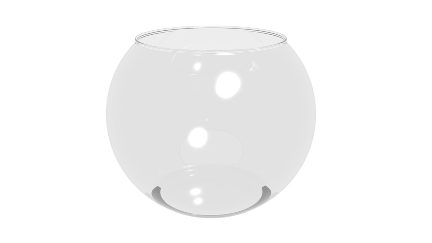 3d max fish bowl fishbowl