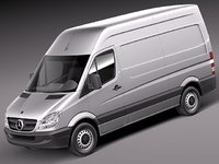 Mercedes Sprinter II Van Short High