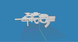 maya p90 gun
