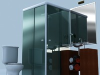 bath bathroom 3d max