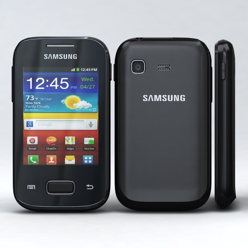 3d model samsung galaxy pocket s5300