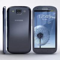 samsung i9300 galaxy s3 3d max
