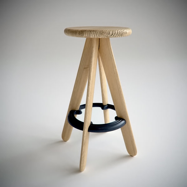 Astonishing Slab Bar Stool 2 By Tom Dixon Gmtry Best Dining Table And Chair Ideas Images Gmtryco