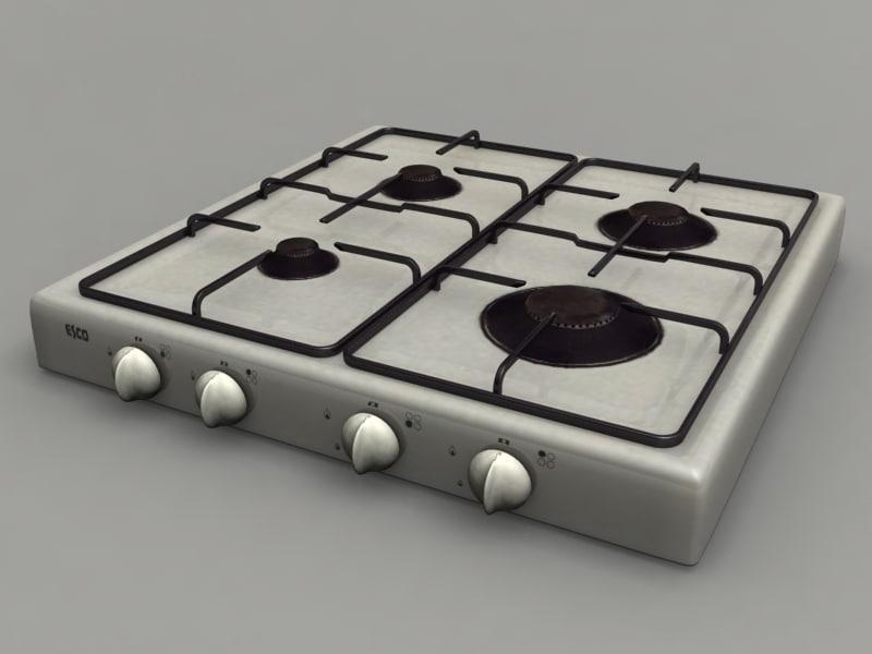 3ds burner gas cooker