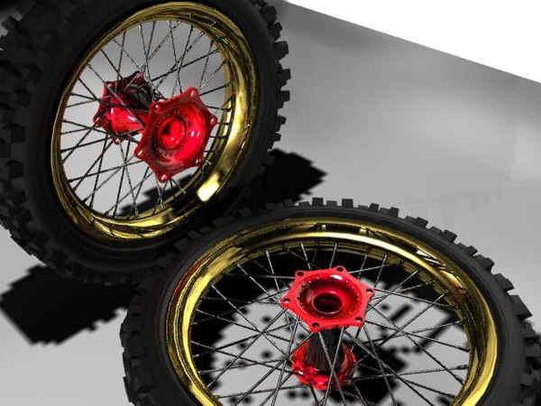 offroad motorcycle 3ds