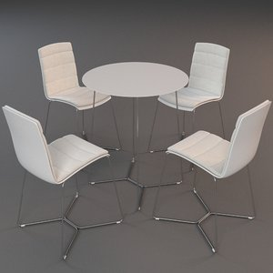 3d model viteo tableset