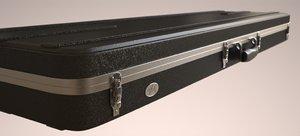 guitar case 3d max