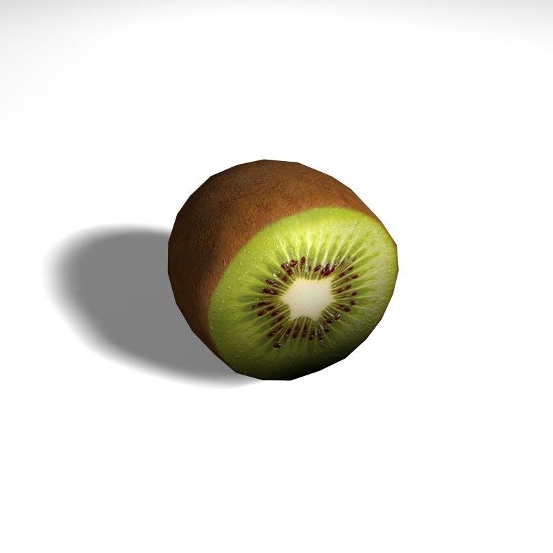 free kiwi 3d model