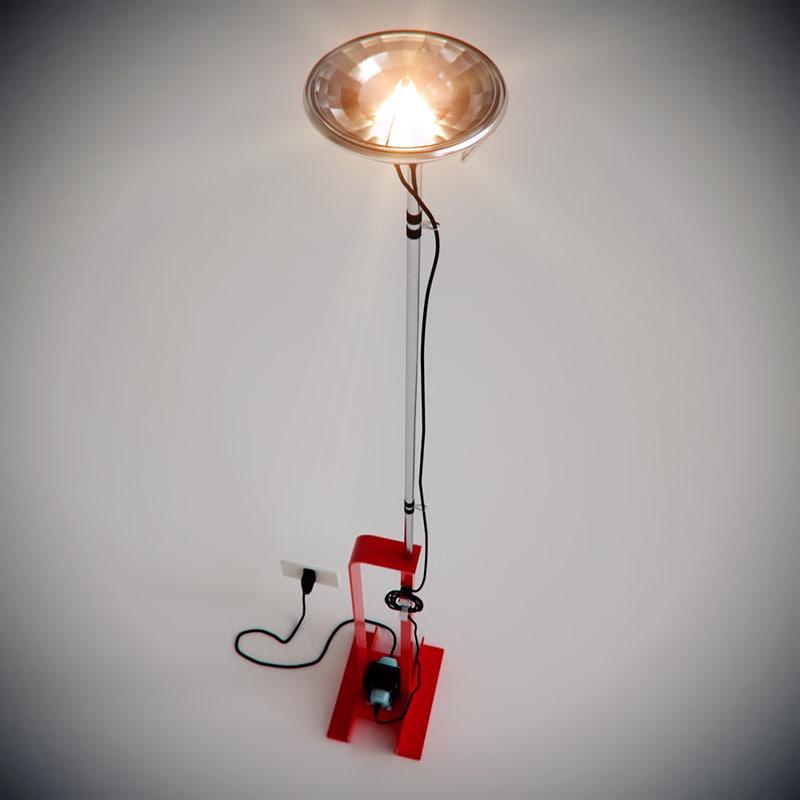 toio lamp flos max