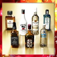 7 Liquor Bottles Collection