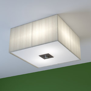 3d model of lamp lighting eglo tosca