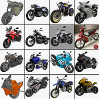 motorcycles 18 cycle 3d model