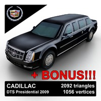 Cadillac DTS Presidential Limo 2009