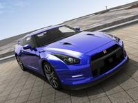 3D Model Nissan GT-R R35 2012 Model