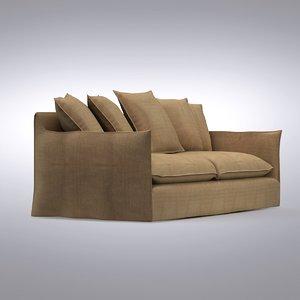 crate barrel - sofa 3d model