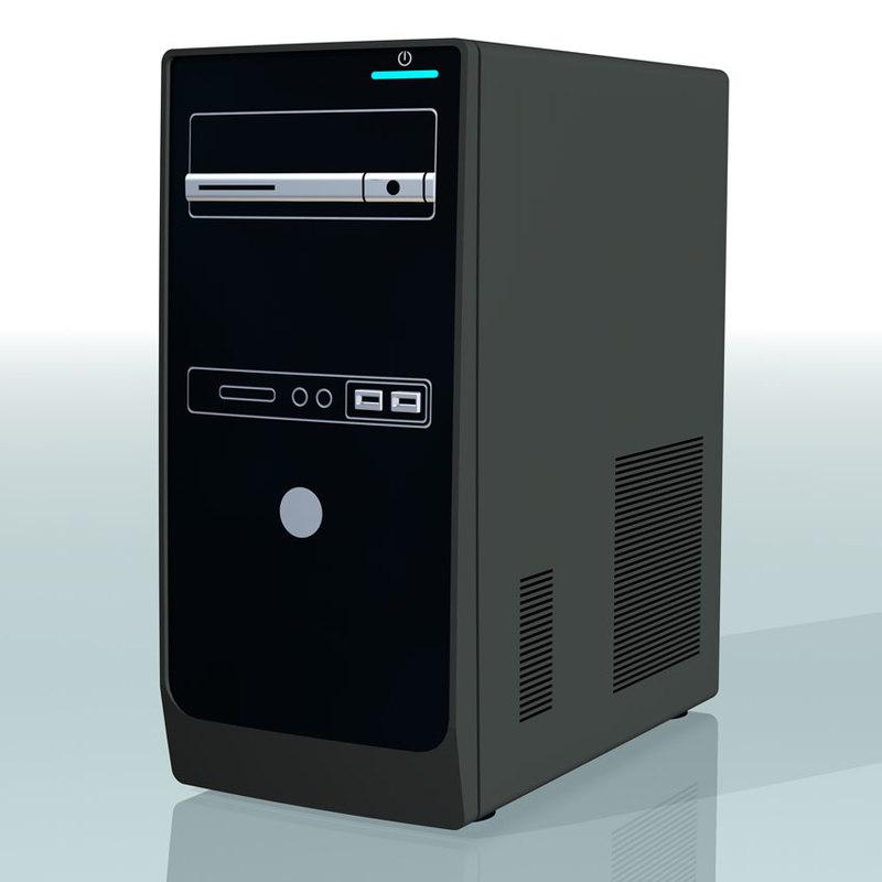 3d model of desktop pc