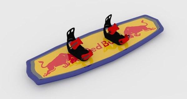 wakeboard 3d model