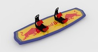 wakeboard 3d model