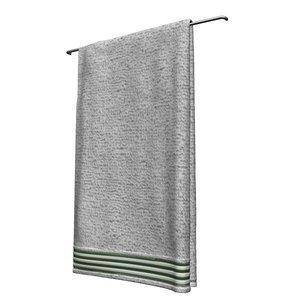 bathrooms towel 3d obj