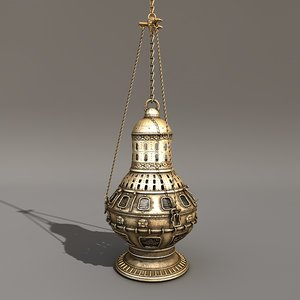 c4d gothic thurible