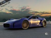 Concept Custom SuperSport Car 4