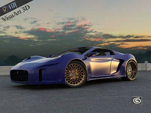 max supercar concept