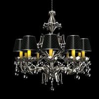 chandelier classic 3d model