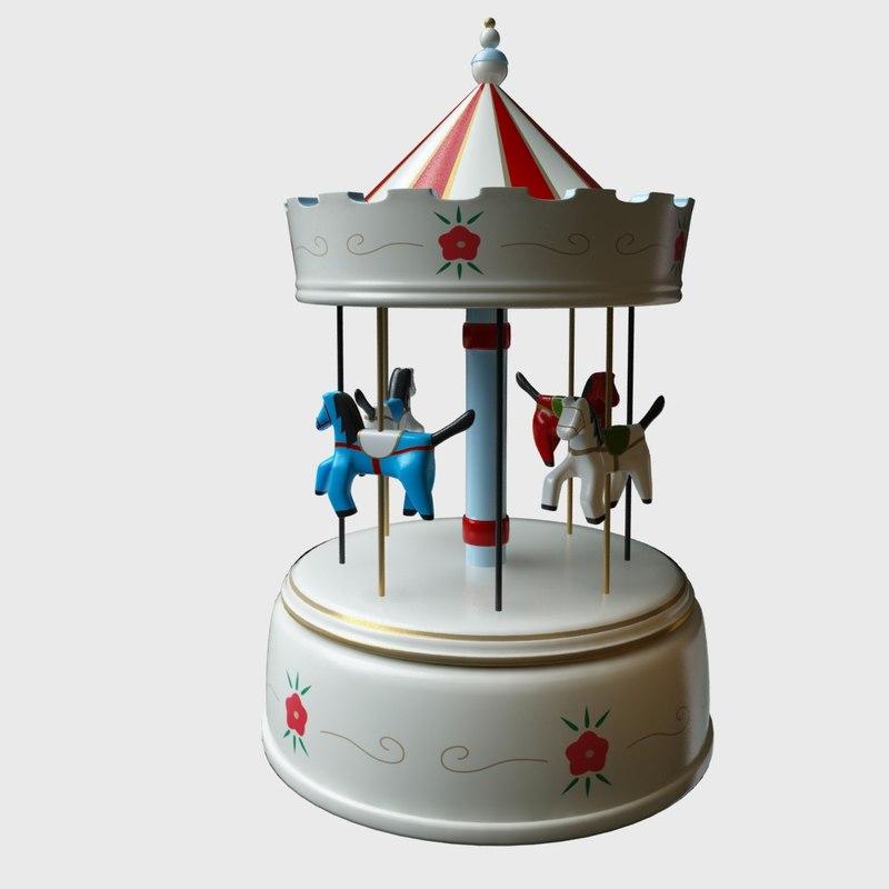 3dsmax merry music box