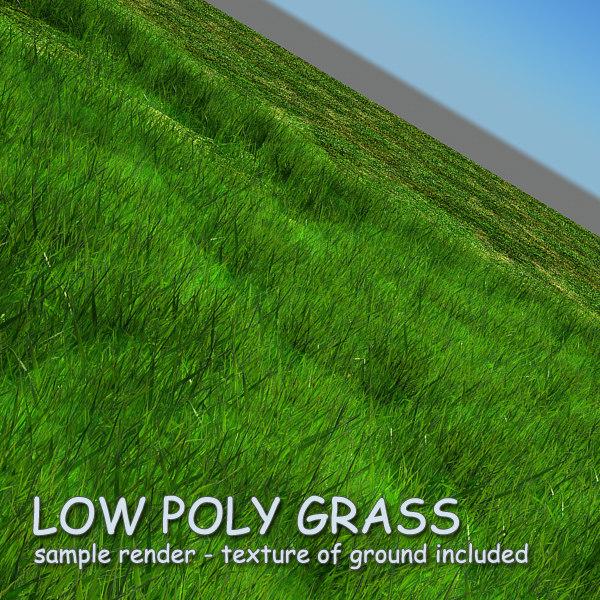 3d obj grass 01 -