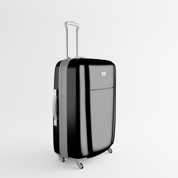 3d luggage trolley