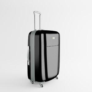 3d luggage trolley