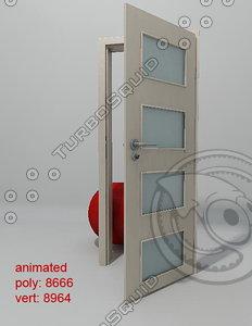 3dsmax door porta classic