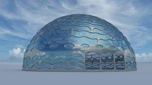s max earth river dome