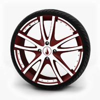 17in Alloy Wheel With Tire