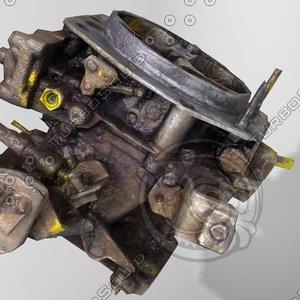 carburetor auto parts 3ds