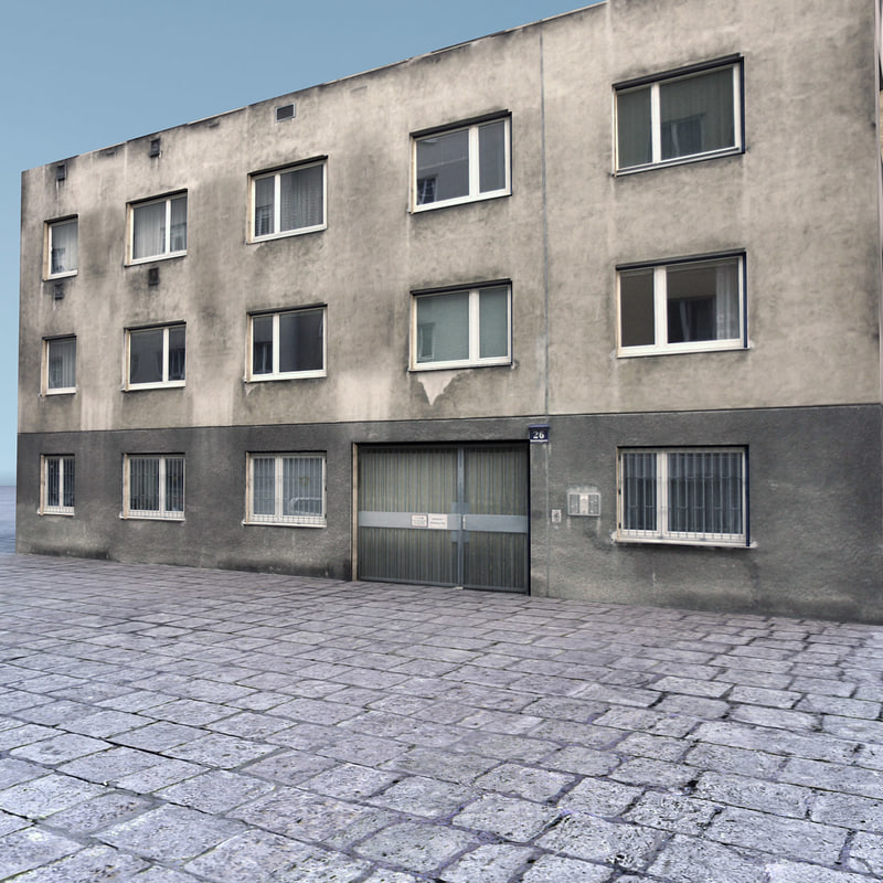 3dsmax residential building