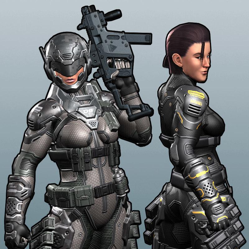 max character gun rig