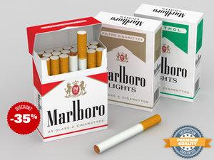 3ds marlboro cigarette pack