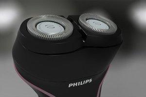 philips smartshaver 3d model